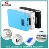 banco portable de la energía 8000mAh con LED Screen&Torch, salida dual del USB, para la lengüeta/la nota (#PB018) de la galaxia de iPad/iPhone/Samsung