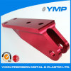CNC Milling Parte del aluminio 6061-T6 con Red Anodizing Surfacr Finish