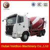 Camion del miscelatore di cemento della Cina HOWO 8m3