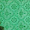 3mm~5mm Farben-gekopiertes Glas, grüne Flora, roter Diamant