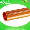 Conduite à dépression spiralée de boyau d'aspiration de PVC de débit de l'eau d'aspiration de l'eau d'helice