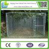 Jaula de acero grande galvanizada al aire libre del perro del acoplamiento de cadena