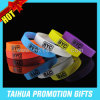 Printed Silicone Wristband (TH-08879)の個人化されたSilicone Bracelets