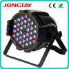 RGB LED PAR 64 Luz 36X3W