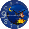 Moon Shaped (IH-3656-h)를 가진 Decorative를 위한 사랑스러운 Promotional Wall Clock