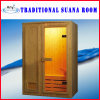 Zaal van de Sauna van 2 Persoon van Finland de Houten Traditionele Droge