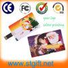 Estilo do cartão de Natal do disco da movimentação U dos dados do flash da memória do cartão de crédito do USB 2.0