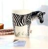 Caneca de café feita sob encomenda cerâmica do Teacup 3D da melhor qualidade com barato