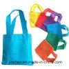 Sacchetti di acquisto non tessuti personalizzati maniglia lunga riciclabile del tessuto dei pp