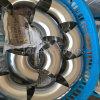 Ferrures de coude soudées bout à bout sanitaires d'acier inoxydable
