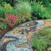 Ciottolo del mosaico del giardino