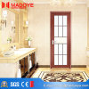 建築材料の空ガラスが付いている内部の金属の浴室のドア