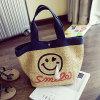 Sacs d'épaule normaux de sac de paille de sourire de face de paille de sac à main doux d'emballage Sy7757