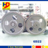 굴착기 엔진 예비 품목 6D22 제 53 47 기름 펌프