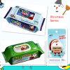 Chemikalien-freies Weihnachtsserien-Baby-nasse Wischer mit verschiedenen Größen und Paketen