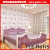 Vinilo lavable moderno Wallcoverings del papel pintado revestido del vinilo comercial del PVC que graba