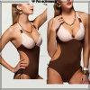 Biquini sexy do Swimwear da praia das mulheres do preço de Compeitive
