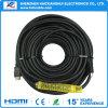 Câble de l'usine 30m HDMI de Shenzhen avec 1080P et 4k