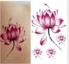 Etiquetas engomadas temporales impermeables del tatuaje de la carrocería de moda de la flor