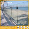 Rete fissa di alluminio del corrimano della scanalatura a u dell'inferriata di vetro di Frameless della balaustra di Frameless per il balcone, la piscina o la spiaggia