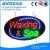 Segno ovale di Waxing&SPA LED di bassa tensione di Hidly