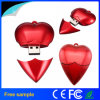 Presentes de casamento Red Heart Shape USB Flash Drive 4GB 8GB