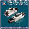 Eje de rotación de Aire-Enfriamiento de Hqd 9kw para el corte de madera del CNC (GDL70-24Z/9.0)
