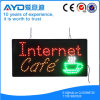 Hidly Rectangle Saving Energy Internet Cafe LED Sign