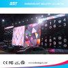 Kontrastreicher Video-Bildschirm des Verhältnis-P4.8mm InnenRetanl des Stadiums-LED