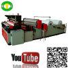 Rolo de perfuração de alta velocidade do papel higiénico que faz o fornecedor da máquina