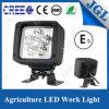 Luz 18W 12V de la lámpara del trabajo de la maquinaria LED del excavador impermeable