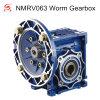 Fuente del reductor de velocidad de la caja de engranajes del gusano Nmrv063