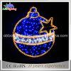 Luz clara IP44 do motivo do diodo emissor de luz da esfera da 2D corda da decoração do Natal