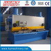 precisión QC11Y-20X2500 guillotina hidráulica máquina de corte