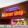 Signes d'entrée principale de magasin de qualité/panneau acryliques de signe lumineux par LED salon de cheveux