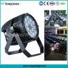 콘서트 옥외 IP65 Rgbaw 18 * 10W DMX LED 무대 조명