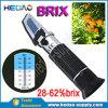 Refractómetro Handheld Rhb-62atc del precio bajo 28-62% Brix de la fábrica