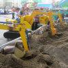 Землечерпалка игрушки электрического парка атракционов миниая
