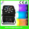 DMX 무선 재충전용 LED 동위 빛
