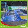 Grande randello commerciale dell'interno del trampolino di Dodgeball per gli adulti