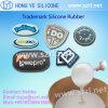 Marca de borracha de silicone para etiqueta de vestuário