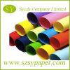 Papel colorido de Woodfree do tamanho A4