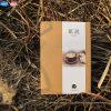 Impression faite sur commande bon marché de cahier de papier d'emballage de nouvelle conception (XLF3280-K04)