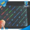 صنع وفقا لطلب الزّبون علامة تجاريّة [هولوغرم] [ترنبسرنت] طلاءات على [بفك] بطاقات, [85.555مّ], نفس مادة أو جانبا [هت]