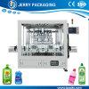 Automatische Detergent Bottelende het Vullen van de Fles van de Lotion Machine met Zuiger