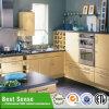 Gabinete de cozinha pequeno de madeira modular feito sob encomenda do PVC