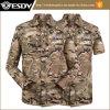 9つのカラー戦術的なワイシャツをハイキングする屋外の速い乾燥したワイシャツハンチング