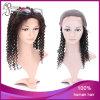 Peluca llena brasileña rizada rizada del cordón del pelo humano de la Virgen 2#