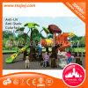 Campo de jogos ao ar livre plástico do projeto da forma para miúdos