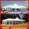 Le Multi-Côté termine la tente mélangée de luxe de dôme de noce de crête élevée